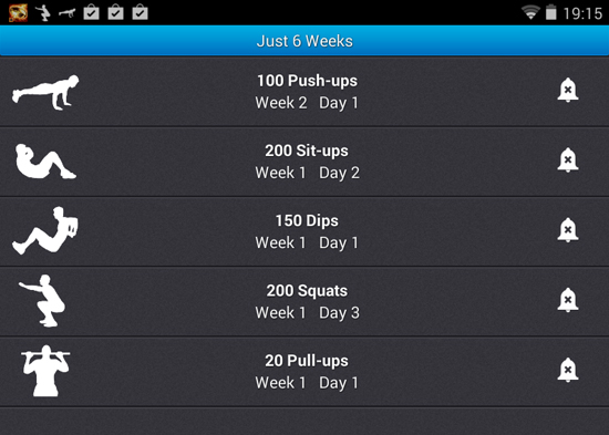 just-six-weeks-android-workout-app